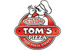 TOM'S PIZZA logo