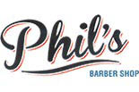 PHIL'S BARBER SHOP logo