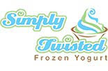 SIMPLY TWISTED FROZEN YOGURT logo