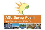 AGL SPRAY FOAM logo