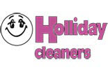 Holliday Cleaners logo