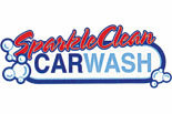 Sparkle Clean Car Wash logo