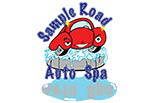 Sample Road Auto Spa logo