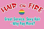 Hair on Fire logo
