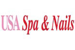 USA Spa and Nails logo