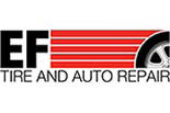 E.F. Tire And Auto Repair logo