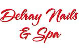 Delray Nails & Spa logo
