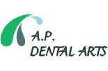 A.P. DENTAL ARTS logo