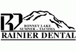 RAINIER DENTAL-BONNEY LAKE logo