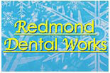 REDMOND DENTAL WORKS logo