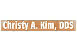 CHRISTY A KIM, DDS logo