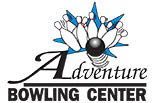 ADVENTURE BOWLING CENTER logo