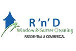 R 'N' D WINDOW & GUTTER CLEANING^ logo