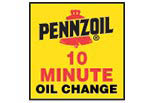 PENNZOIL 10 MINUTE OIL CHANGE logo