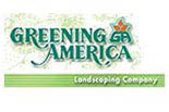 GREENING AMERICA LANDSCAPING CO. logo