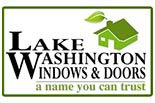 LAKE WA WINDOWS & DOORS logo