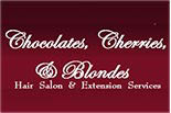 CHOCOLATES, CHERRIES AND BLONDES logo