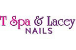 T SPA NAILS logo