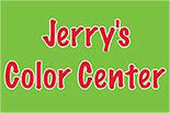 JERRY'S COLOR CENTER logo