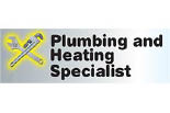 PLUMBING AND HEATING SPECIALIST logo