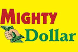 MIGHTY DOLLAR STORE logo