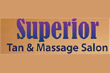 SUPERIOR TAN & MASSAGE logo