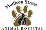 MADISON STREET ANIMAL HOSPITAL logo