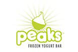 PEAK'S FROZEN YOGURT logo