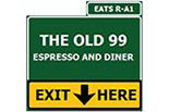 THE OLD 99 ESPRESSO AND DINER logo