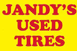 JANDY'S USED TIRE logo