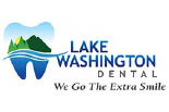 LAKE WASHINGTON DENTAL logo