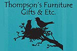 THOMPSON'S FURNITURE GIFTS & ETC logo