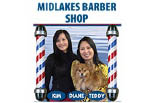 MIDLAKES BARBER SHOP logo