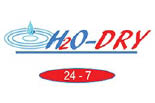 H2O CARPET CLEANING logo