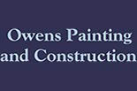 OWENS PAINTING AND CONSTRUCTION logo