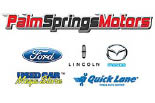 PALM SPRINGS MOTORS logo