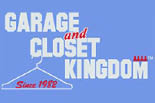 GARAGE AND CLOSET KINGDOM logo