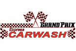 GRAND PRIX CAR WASH logo