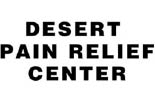 DESERT PAIN RELIEF CENTER logo