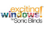 SONIC BLINDS logo
