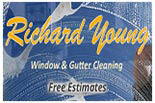 RICHARD YOUNG WINDOW  CLEANING SERVICE logo