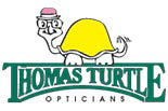 THOMAS TURTLE OPTICIANS logo