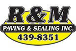 R & M PAVING & SEALING logo