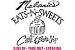 Melanie's Eats & Sweets Cafe & Bake Shop logo