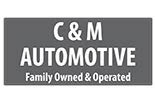 C & M AUTOMOTIVE logo
