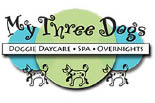 My Three Dogs logo