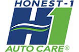 HONEST-1 AUTO CARE logo