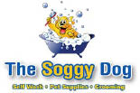 SOGGY DOG, THE logo