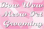 BOW WOW MEOW PET GROOMING logo