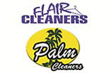 FLAIR & PALM CLEANERS logo
